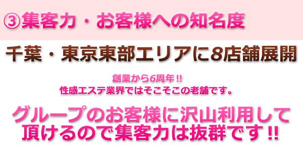 千葉、東京東部エリアに8店舗展開